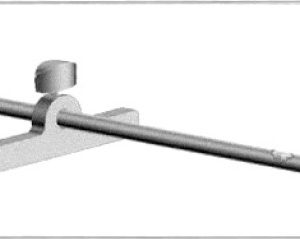 """Trumpf 143439 C 160 Parallel Stop (1-3/8"""" to 11-3/4 Strips)"""