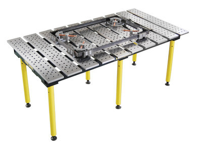 StrongHand Tools TMQA59446 BuildPro Welding Table (Nitrided)