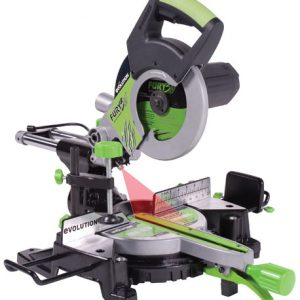 "Evolution Fury3 8-1/4"" TCT Multipurpose Sliding Miter Saw"