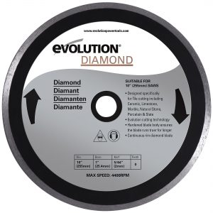 "Evolution 10BLADEDM 10"" Diamond Masonry x 1"""