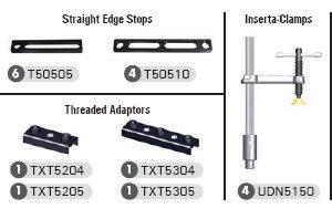 StrongHand Tools TMK510 BuildPro 34-Piece Modular Fixturing Kit
