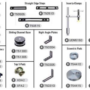StrongHand Tools TMK520 BuildPro 71-Piece Modular Fixturing Kits