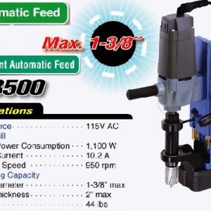 Nitto Kohki AtraAce WA-3500 Mag Drill - Magnetic Drill